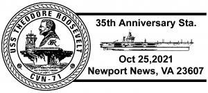 CVN-71 35TH Anniversary