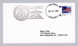 USS LAND ANNV